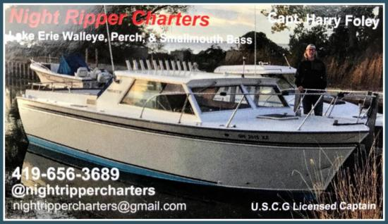 Nightripper Charter Middle Bass Island