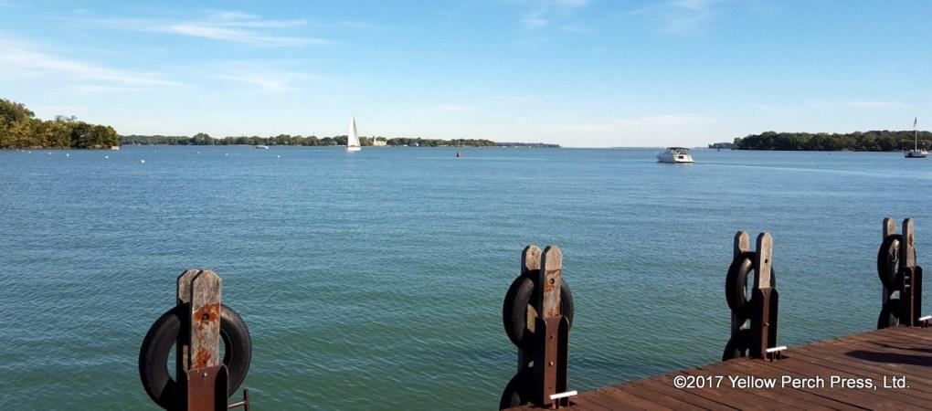 dock at Put in Bay