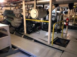 Miller Ferry engine room