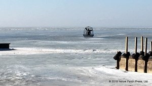 Lake Erie air boat