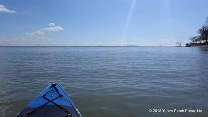 Lake Erie kayak