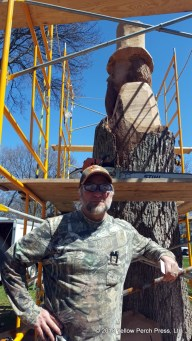 tree carving chainsaw art