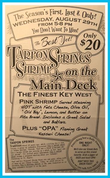 Shrimp Dinner Put in Bay