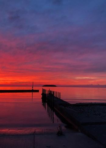 Put in Bay sunset