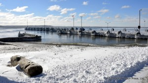 winter at Put in Bay