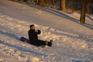 sledding Put in Bay