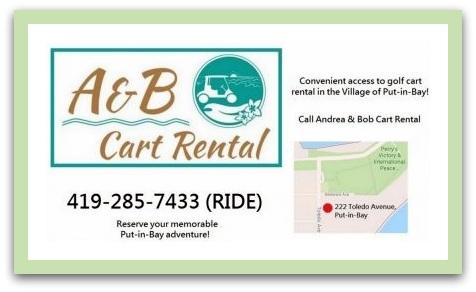 Put in Bay Golf Cart Rental