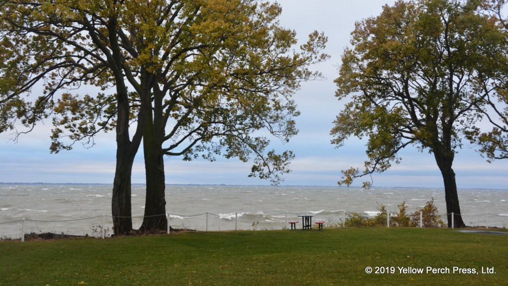 Stormy Lake Erie