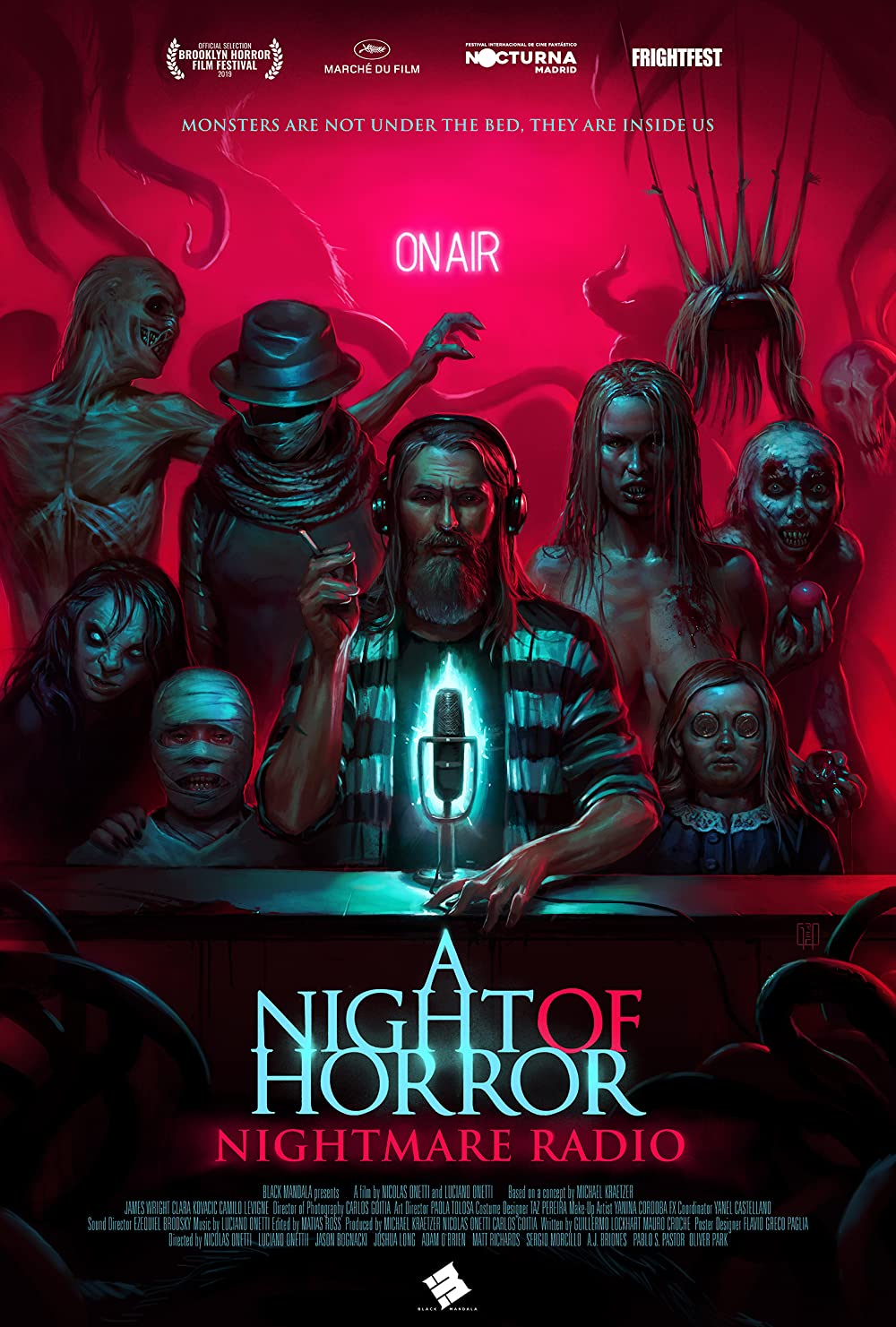 A Night of Horror: Nightmare Radio (2019) Subtitle Indonesia