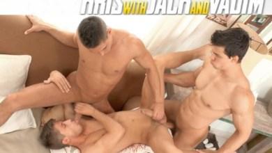 Photo of BelAmiOnline – All Star 3-Way, Part 2 – Kris Evans, Vadim Farrell and Jack Harrer – Bareback
