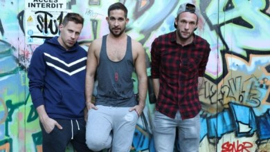Photo of Ericvideos – Loaded after the gym – Philippe, Flo & Guillaume – Bareback