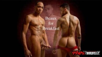 Photo of O rabinho gostoso de Beaux Banks e o café da manhã de Trent King
