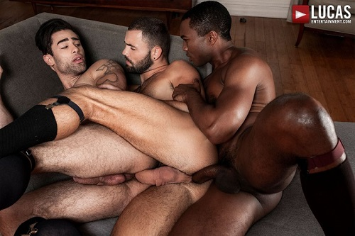 Gentlemen 24: Man-On-Man Merger - Jeffrey Lloyd, Lucas Leon & Sean Xavier
