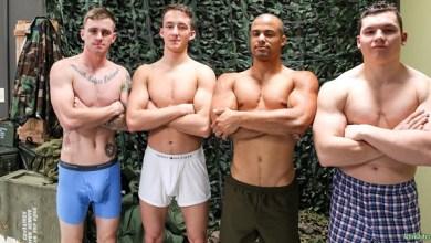 Photo of Ryan Jordan, Alexander Maximus, Arlington Jones e Liam Daniels – Bareback