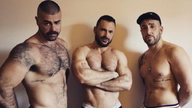 Photo of Ericvideos – Gabriel, Jose, Mathieu Ferhati – Fucked in a stairway – Bareback