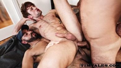 Photo of Tim Tales – Adam Sahar e Francisco Sants double penetrate Drew Dixon