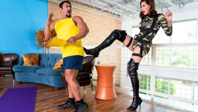 Photo of TransAngels – Satisfying The Sergeant – Alexa Scout & Draven Navarro