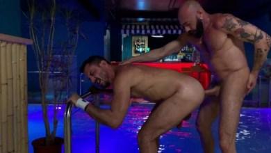 Photo of RawFuckClub – Wrecked by the Pool – Joe Gillis e Gianni Maggio – Bareback