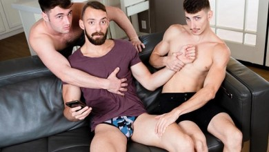 Photo of Mixed Up Michaels – Johnny B, Michael Boston e Michael Jackman – Bareback