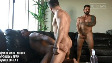 Photo of JustForFans – Colby Melvin, Will Corea and Jack Mackenroth