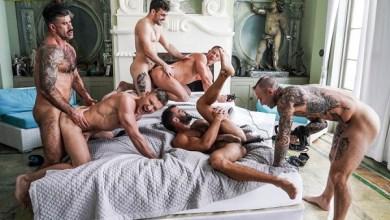Photo of Lucas Raunch –  Six-Man – Fuck-Machine Orgy Action