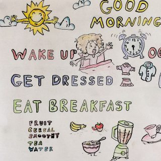 Making a 'Good Morning Poster'