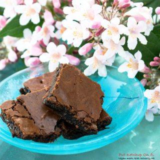 sticky brownie
