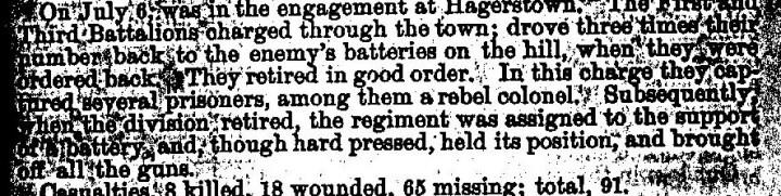 Hagerstown incident Report