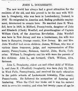 Family History of NY