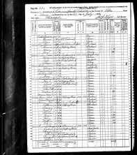 1870 US Census Pike Co., Pennsylvania