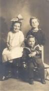 Dorothy, Robert, and Walter Dougherty