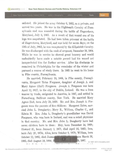 New York Family History