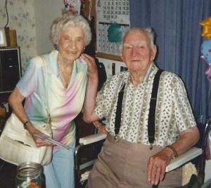 Eunice Logan and Lloyd Putnam 1996