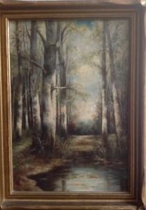 Painting by May Heap Circa 1920