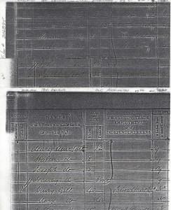 1841 UK Census Old Accrington, Lancashire