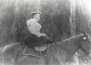 Ida May on Nellie