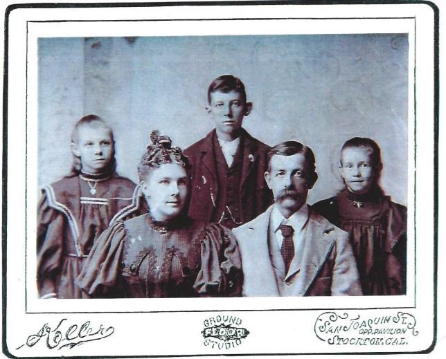 Lena, Ike, Blanche Grace and Joseph F. Putnam