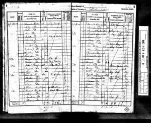 1841  UK Census Dunkenfield