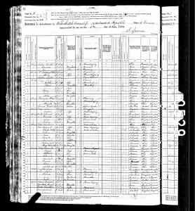 1880 US Census Elk Creek Township Republic County Kansas