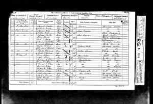 1861 UK Census Aston-under Lyne St Michaels parish