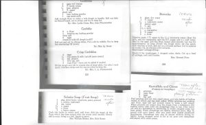 recipes from Cookbook