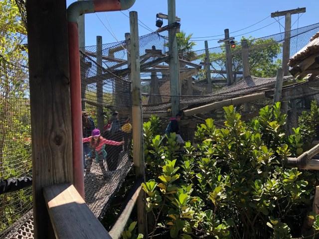 Camp Jurassic Rope Structure