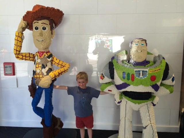 Disney Springs LEGO store