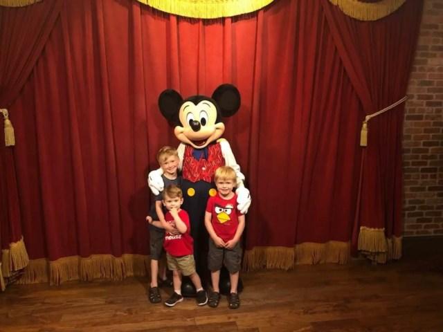 Disney World's Magic Kingdom Attractions Mickey Mouse
