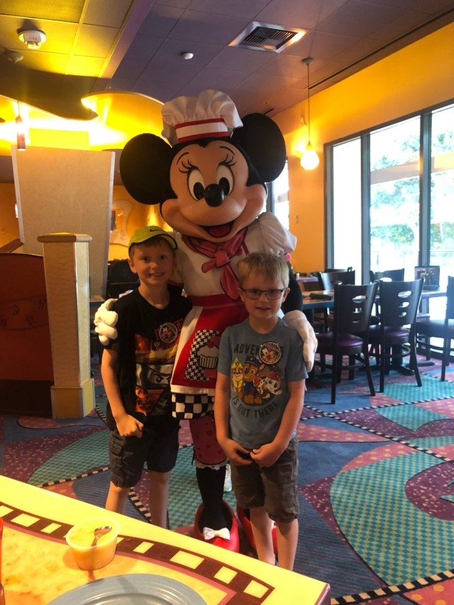Grand Californian Breakfast with Characters Goofy's Kitchen