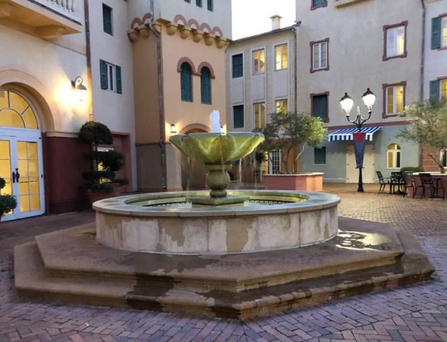 Loews Portofino Bay Hotel Water Fountain