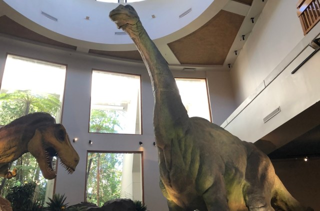 Jurassic Park Discovery Center Dinosaurs