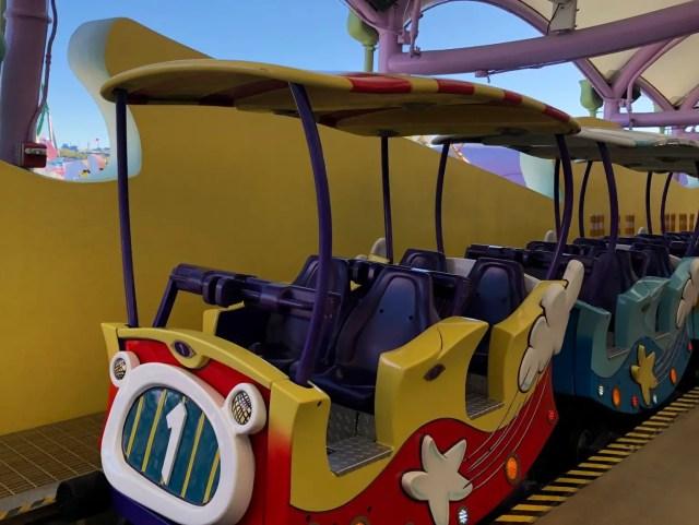 Universal Islands of Adventure Attractions Seuss Trolley