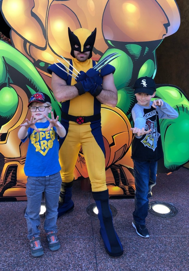 Universal Islands of Adventure Park Wolverine