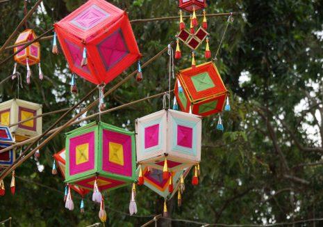 Dekoracije u selu Tai Dam naroda